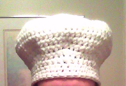 Crochet Pattern Chef Hat : Accidental Toque-Blanche Stitched In Love Crocheting